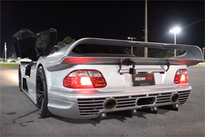 Mercedes-Benz CLK GTR Super Sport Exhaust