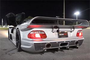 Mercedes-Benz CLK GTR Super Sport Exhaust