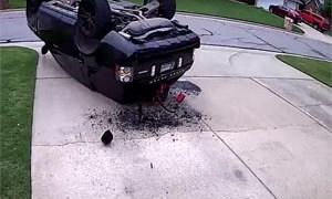 Range Rover J-Turn Fail