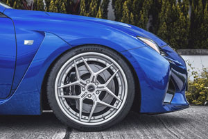Lexus RC F Brixton Forged Wheels