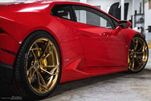 Lamborghini Huracan Brixton Forged PF1 Ultrasport+ Wheels