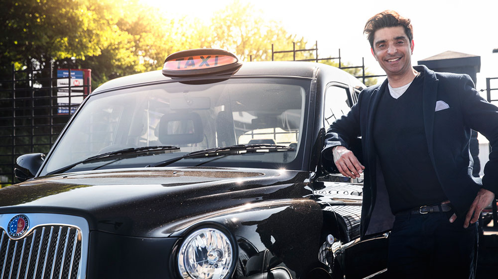 Afzal Kahn London Taxi Company Last of Line Edition Black Cab