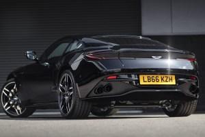Aston Martin DB11 with Kahn Monza Superleggera Wheels