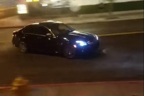 Mercedes-Benz Crash in Las Vegas