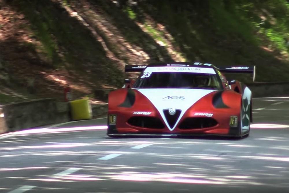 Alfa Romeo 4C Zytek V-8