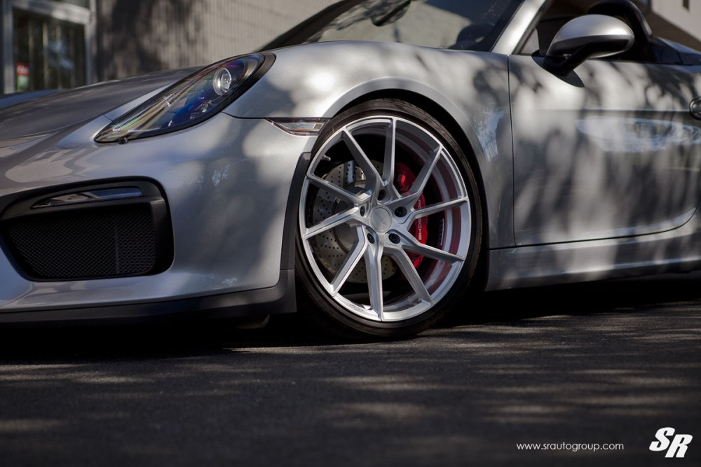 Porsche Boxster Spyder with PUR FL26 Wheels by SR Auto Group