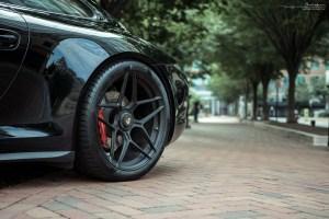 Porsche 911 Carrera GTS with Brixton Forged WR7 Ultrasport+ Wheels