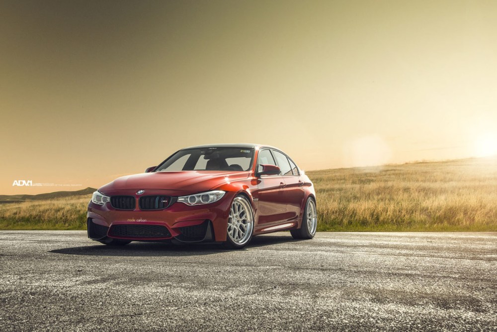 BMW M3 with ADV10.0 Track Function CS Wheels