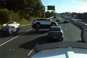 Friday FAIL: Seven-Car Crash in Australia