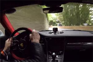 Walter Röhrl Porsche 911 GT2 RS Goodwood Festival of Speed