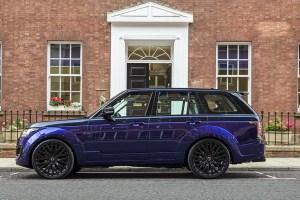 Project Kahn Range Rover Vogue SE Pace Car