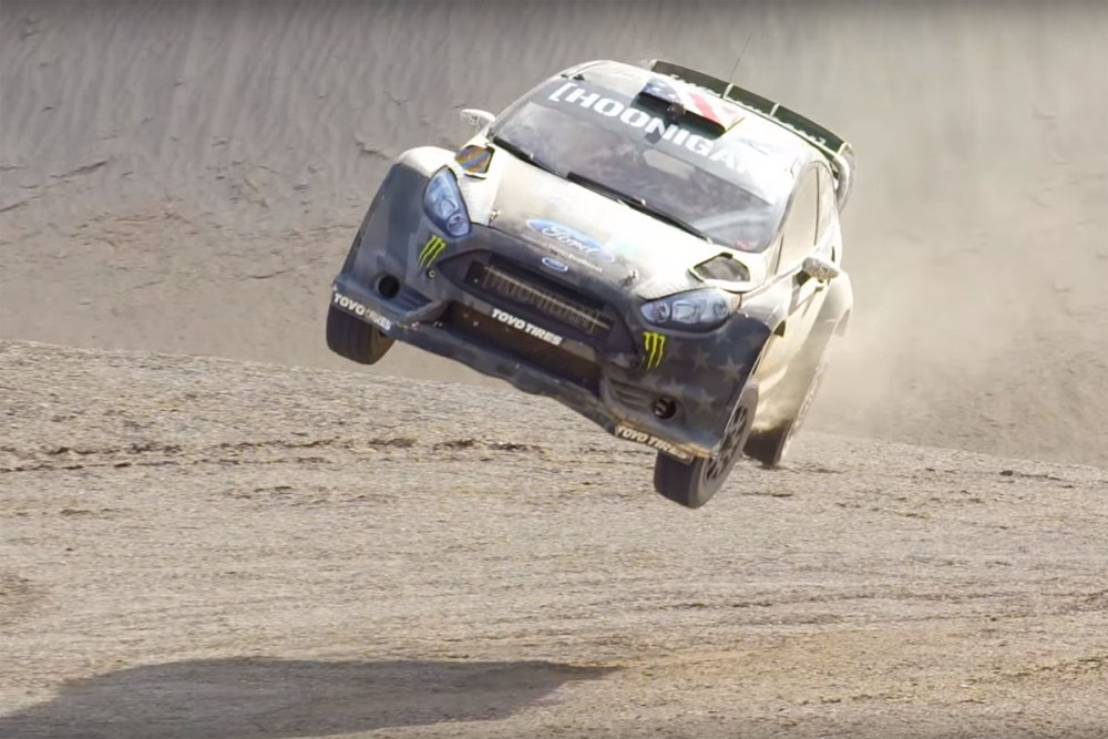 Ken Block TERRAKHANA: THE ULTIMATE DIRT PLAYGROUND'