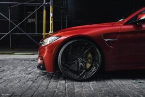 Sakhir Orange BMW M4 with Brixton Forged PF1 Ultrasport+ Wheels