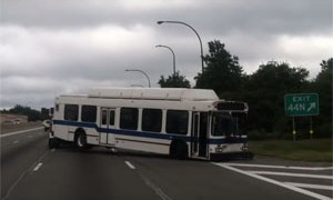 Friday FAIL: Sideways Bus Towing