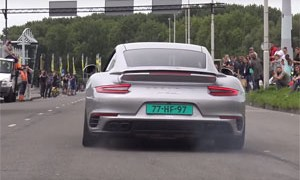 Supercars Leaving Car Show