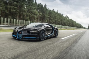 Bugatti Chiron 0-400-0 World Record