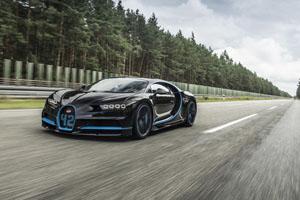 Bugatti Chiron World Record