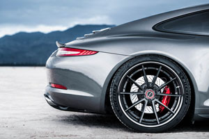Porsche 911 Carrera 4S Brixton Forged Wheels