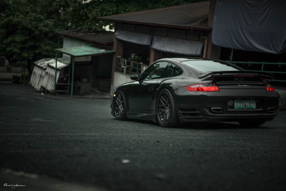 997 Porsche 911 Turbo with Brixton Forged CM16 Targa Series Wheels
