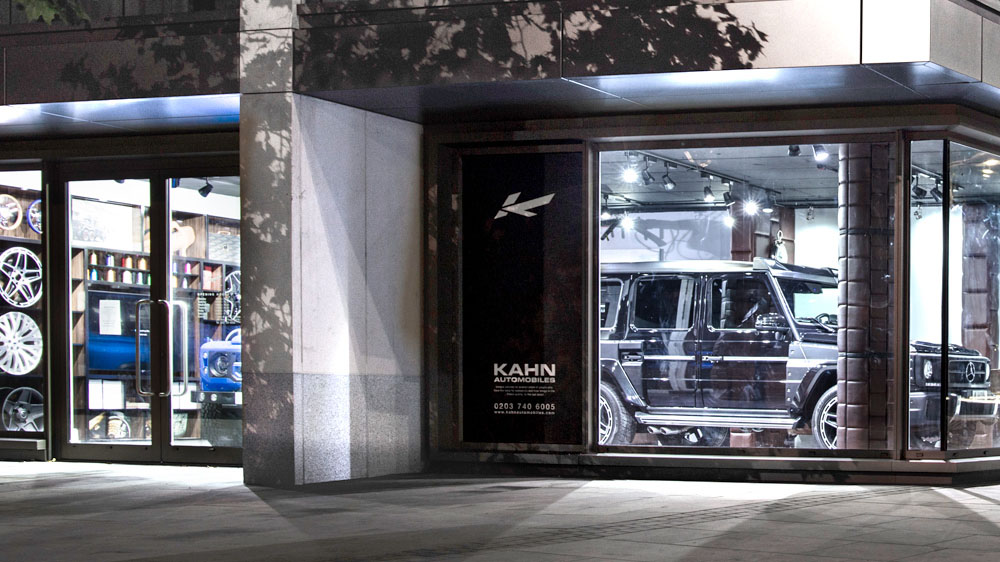 Kahn Showroom in Kensington