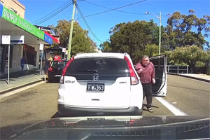 Friday FAIL: Road Rager Takes Himself Out