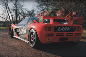 Andy Bruce McLaren F1 GTR Christmas Tree