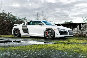 Audi R8 Competition with Brixton Forged R10 Ultrasport+ Wheels