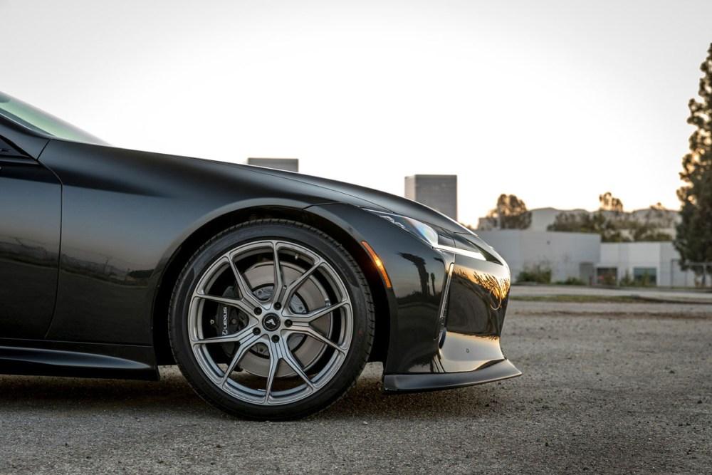 Lexus LC500h with Vorsteiner V-FF 103 Flow Forged Wheels