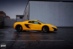 McLaren 650S Spider with PUR FL26 Wheels