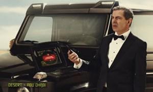 Rowan Atkinson Chelsea Truck Company Mercedes-Benz G63 AMG Hammer Edition