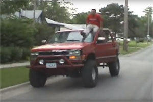 Friday FAIL Ghost Riding the Whip