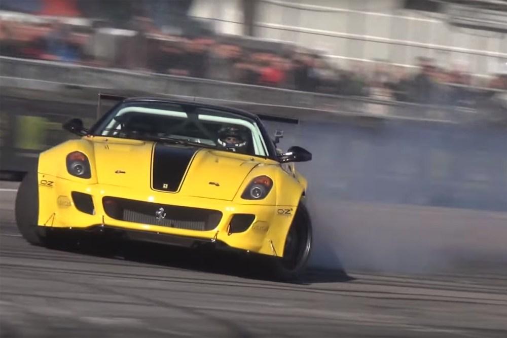 Formula DRIFT Twin-Supercharged Ferrari 599 GTB