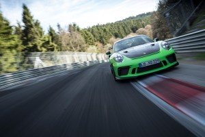 Porsche 911 GT3 RS Nurburgring Lap time 2018
