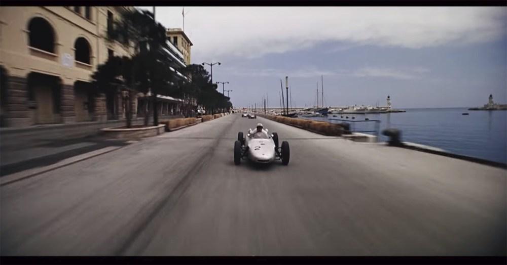 1962 Monaco Grand Prix in the documentary, 'Flying Clipper'