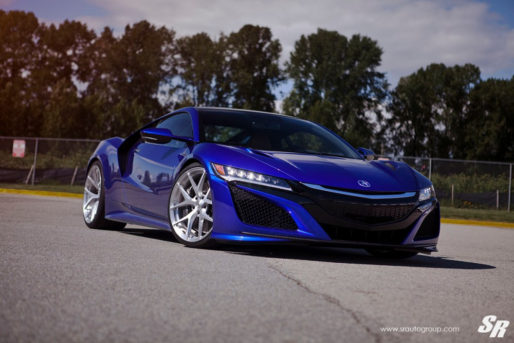 Acura NSX with PUR 4OUR Wheels by SR Auto Group