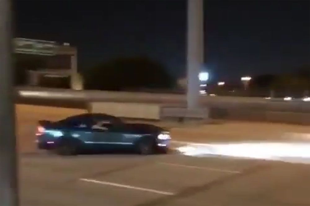 Friday FAIL Another Ford Mustang Crash