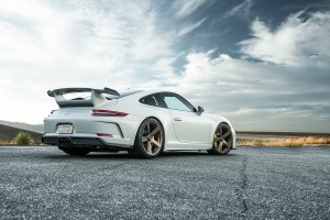 Porsche 911 GT3 Vorsteiner V-CS 003 Wheels and V-RS Carbon Hood
