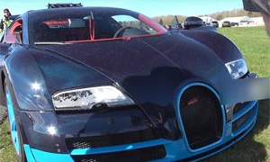 Friday FAIL Bugatti Veyron Crash