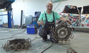 Coil Springs as Tires