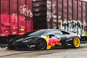 Red Bull Huracan Brixton Forged