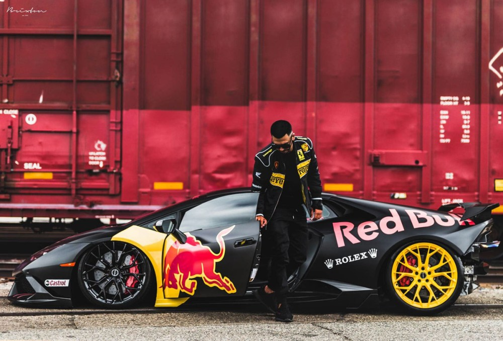 Featured Fitment Red Bull Huracan With Brixton Forged Wheels