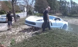 Friday FAIL 9 Second Corvette Crash