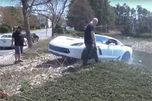 Friday FAIL 9 Second Corvette Crash