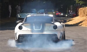Goodwood Festival of Speed Drifts