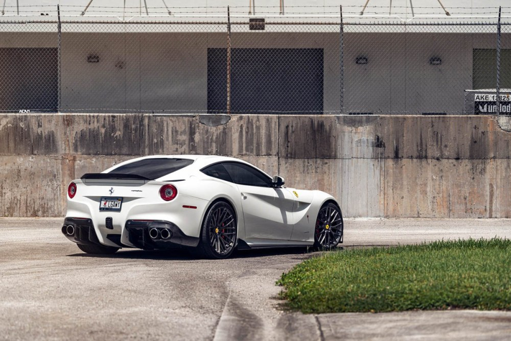 Ferrari F12Berlinetta with ADV10.0 M.V2 CS Series Wheels by MC Customs