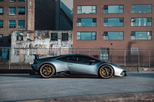 Lamborghini Huracan Performante with Brixton Forged PF5 Ultrasport+ Wheels