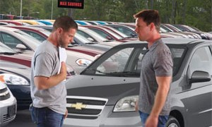 Mahk salesman Mark Wahlberg Chevrolet