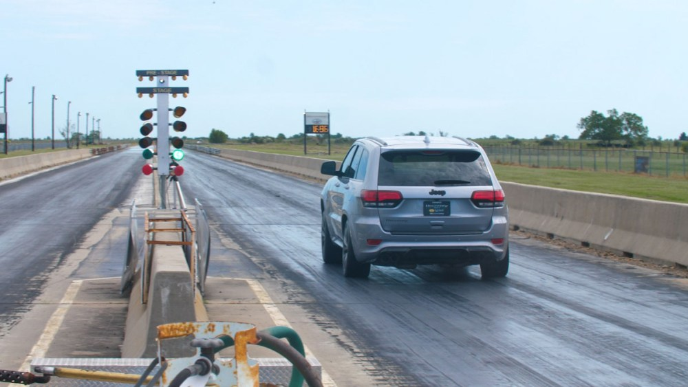 Hennessey Performance HPE1200 Jeep Grand Cherokee SRT Trackhawk World Record