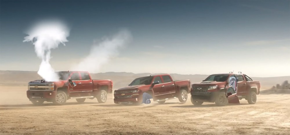 Mahk Chevy Real People Not Actors truck dependability