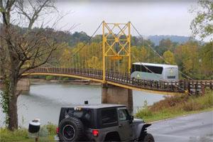 Friday FAIL Too Heavy for Bridge
